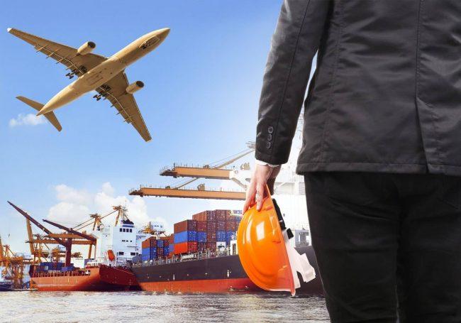 واردات هوایی، زمینی، دریایی بار