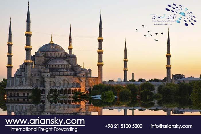 ارسال بار مسافری به ترکیه