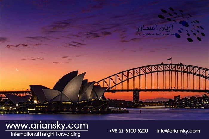 فریت بار مسافری به استرالیا